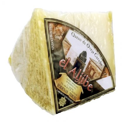queso el aljibe curado