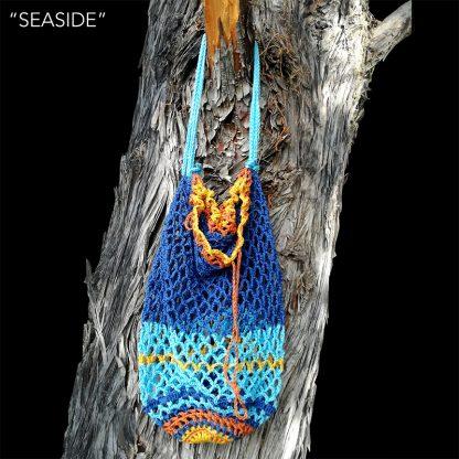 crochet net bag seaside agradar.es