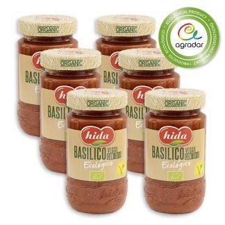 salsa basilico eco x 6 agradar.es