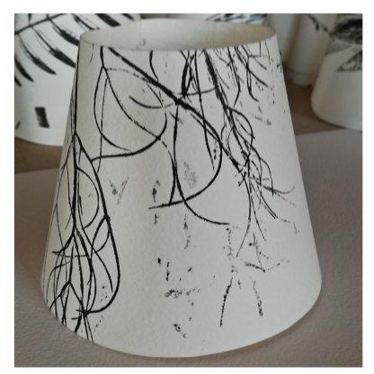 pantallita papel - candle lamp screen