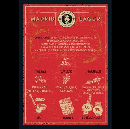 cerveza artesana la virgen flyer lager2