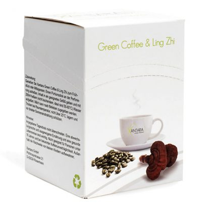 green coffee with ling zhi