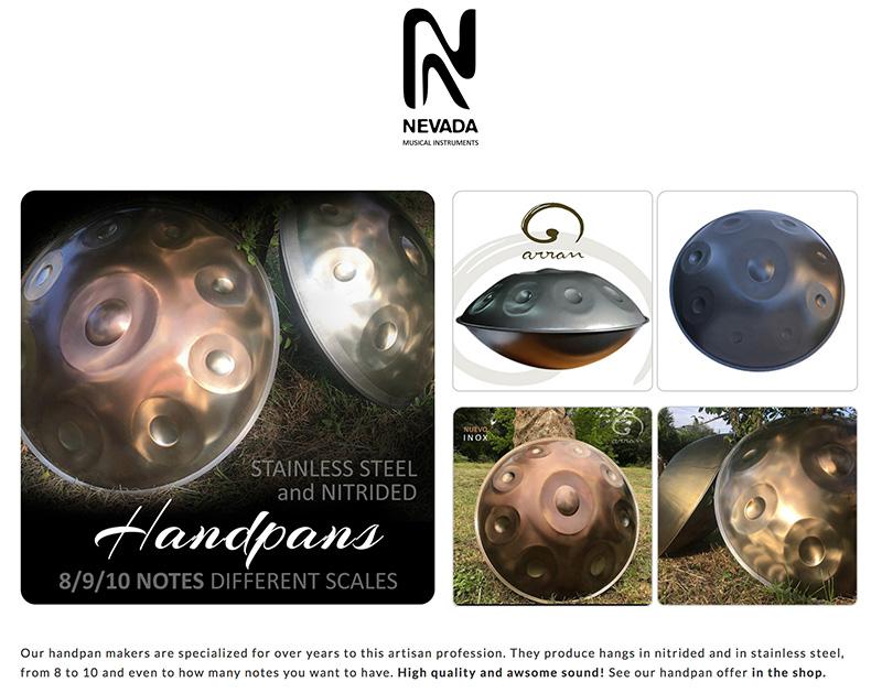 NEVADA-Sound handpans