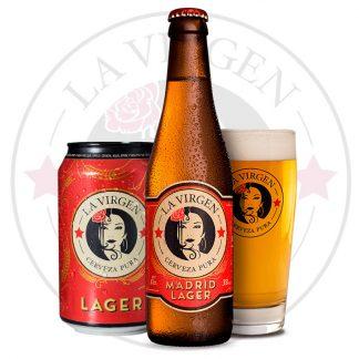 cerveza artesana la virgen lager-botella-agradar