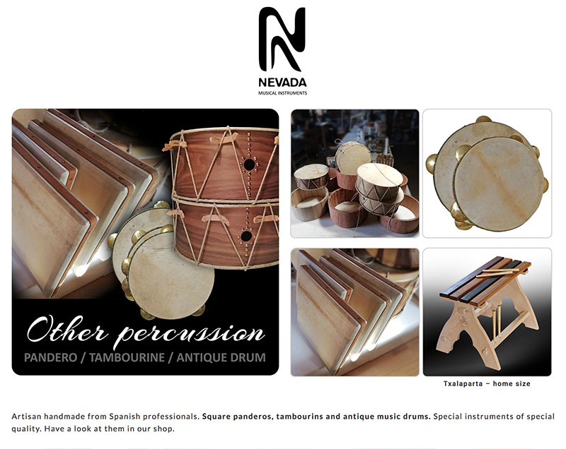 NEVADA-Sound percussion instruments