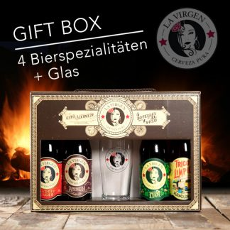gift box la virgen 4 supreme beer specialitys