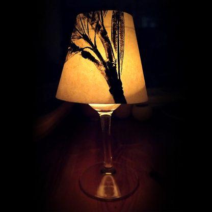pantallita papel - candle lamp screen4