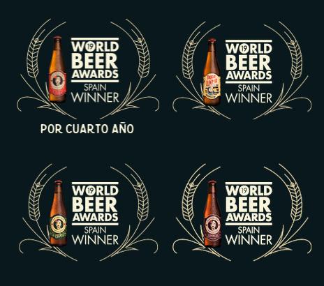 cerveza la virgen world beer award agradar.es