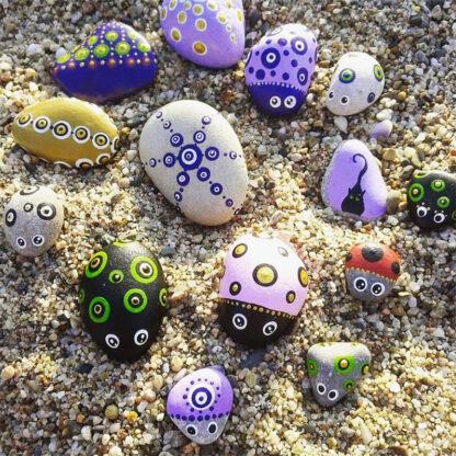 piedras pintadas agradar 2
